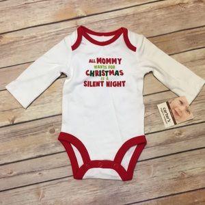 NWT Christmas Bodysuit